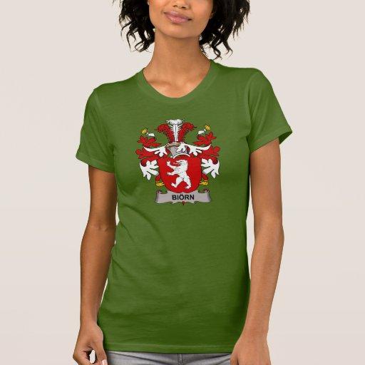 Escudo de la familia de Biorn T Shirts