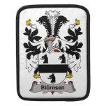 Escudo de la familia de Biornsen Funda Para iPads