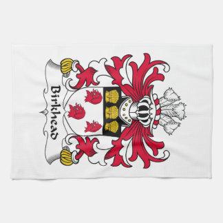 Escudo de la familia de Birkhead Toallas De Mano