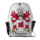Escudo de la familia de Birkinshaw Bolsa Messenger