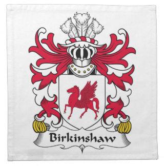 Escudo de la familia de Birkinshaw Servilletas Imprimidas