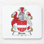 Escudo de la familia de Birnie Alfombrilla De Ratones