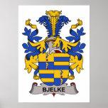 Escudo de la familia de Bjelke Impresiones