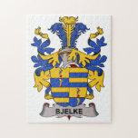 Escudo de la familia de Bjelke Puzzle