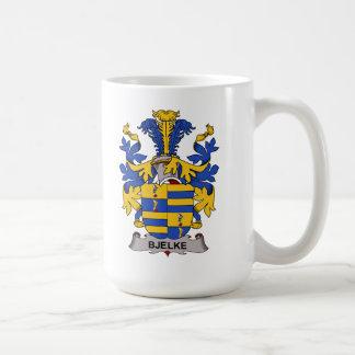 Escudo de la familia de Bjelke Taza De Café