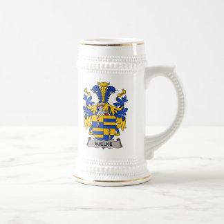 Escudo de la familia de Bjelke Tazas De Café