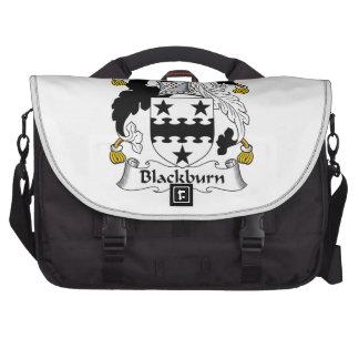 Escudo de la familia de Blackburn Bolsas De Ordenador