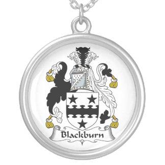 Escudo de la familia de Blackburn Colgante Redondo