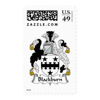 Escudo de la familia de Blackburn Franqueo