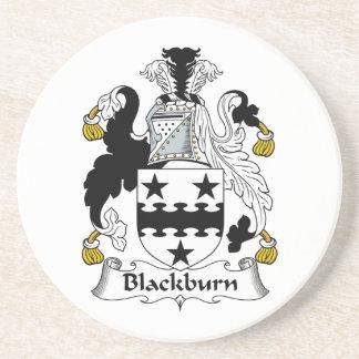 Escudo de la familia de Blackburn Posavasos De Arenisca