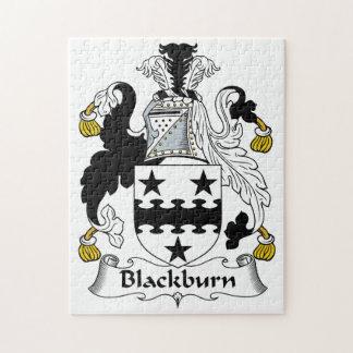 Escudo de la familia de Blackburn Rompecabeza Con Fotos