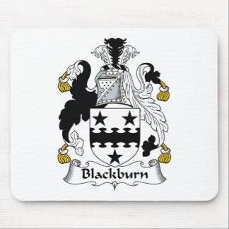 Escudo de la familia de Blackburn Tapetes De Raton