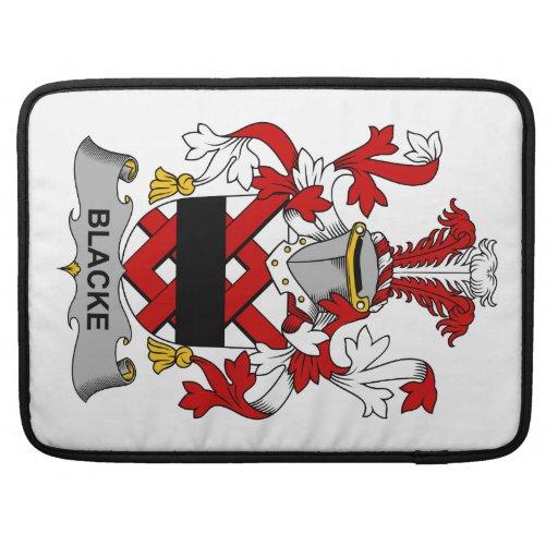 Escudo de la familia de Blacke Funda Para Macbooks