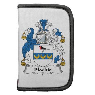 Escudo de la familia de Blackie Planificador