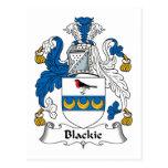 Escudo de la familia de Blackie Postal