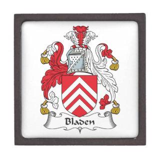 Escudo de la familia de Bladen Caja De Recuerdo De Calidad