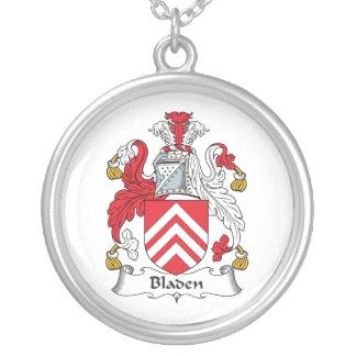 Escudo de la familia de Bladen Colgante Personalizado
