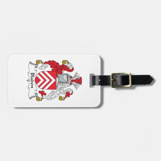 Escudo de la familia de Bladen Etiquetas Para Maletas