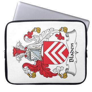 Escudo de la familia de Bladen Fundas Ordendadores
