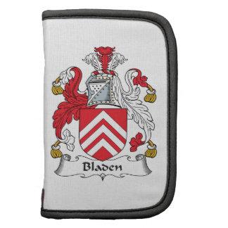Escudo de la familia de Bladen Planificador