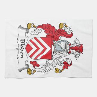 Escudo de la familia de Bladen Toalla