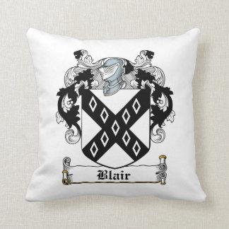 Escudo de la familia de Blair Almohadas