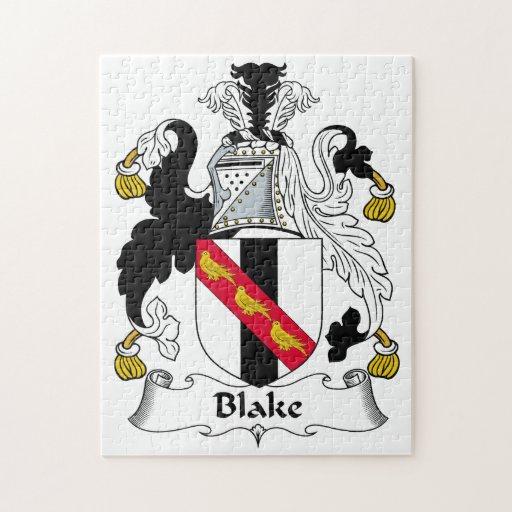 Escudo de la familia de Blake Puzzles
