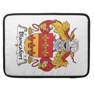 Escudo de la familia de Blancafort Funda Macbook Pro