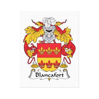 Escudo de la familia de Blancafort Lona Estirada Galerias