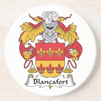 Escudo de la familia de Blancafort Posavasos Para Bebidas
