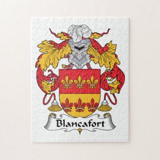 Escudo de la familia de Blancafort Rompecabezas Con Fotos