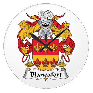 Escudo de la familia de Blancafort Reloj