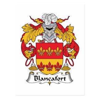 Escudo de la familia de Blancafort Postales