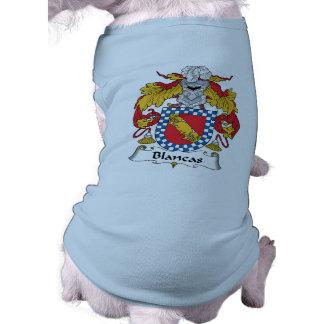 Escudo de la familia de Blancas Ropa De Perros