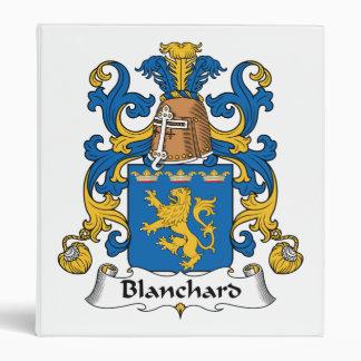 Escudo de la familia de Blanchard