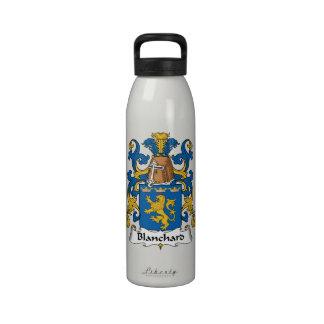 Escudo de la familia de Blanchard Botellas De Agua Reutilizables