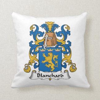 Escudo de la familia de Blanchard Almohada