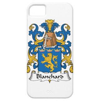 Escudo de la familia de Blanchard iPhone 5 Cárcasas
