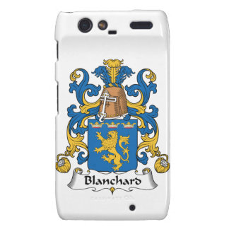 Escudo de la familia de Blanchard Motorola Droid RAZR Carcasa