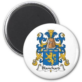 Escudo de la familia de Blanchard Imán De Frigorífico