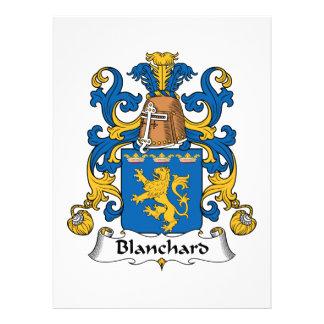 Escudo de la familia de Blanchard Anuncios Personalizados