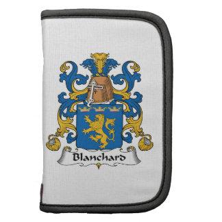 Escudo de la familia de Blanchard Organizador