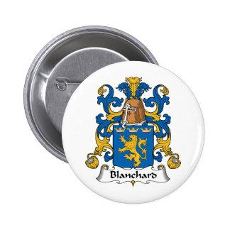 Escudo de la familia de Blanchard Pins