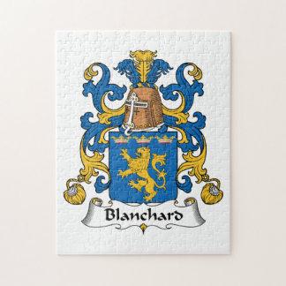 Escudo de la familia de Blanchard Puzzle Con Fotos