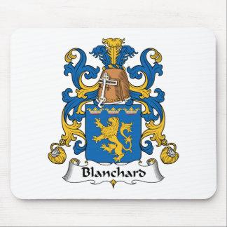 Escudo de la familia de Blanchard Tapetes De Ratones