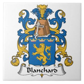 Escudo de la familia de Blanchard Tejas Ceramicas
