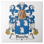 Escudo de la familia de Blanche Azulejo