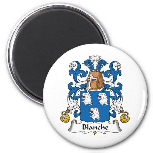 Escudo de la familia de Blanche Imán De Frigorifico