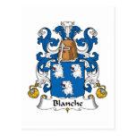 Escudo de la familia de Blanche Postal