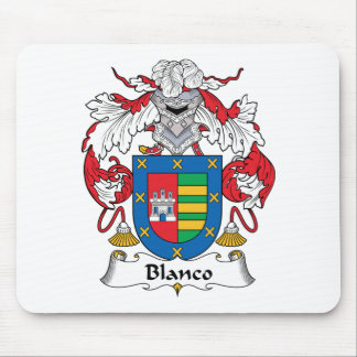 Escudo de la familia de Blanco Alfombrilla De Raton